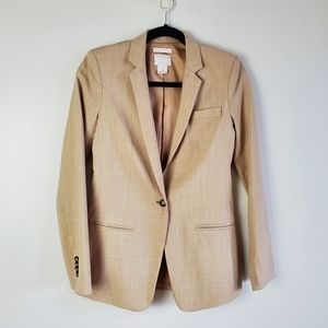 Club Monaco tan wool blazer